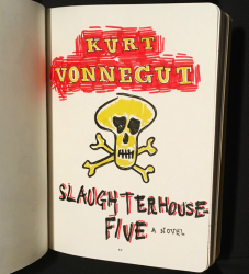 Slaughterhouse Five Illustrated Book Cover